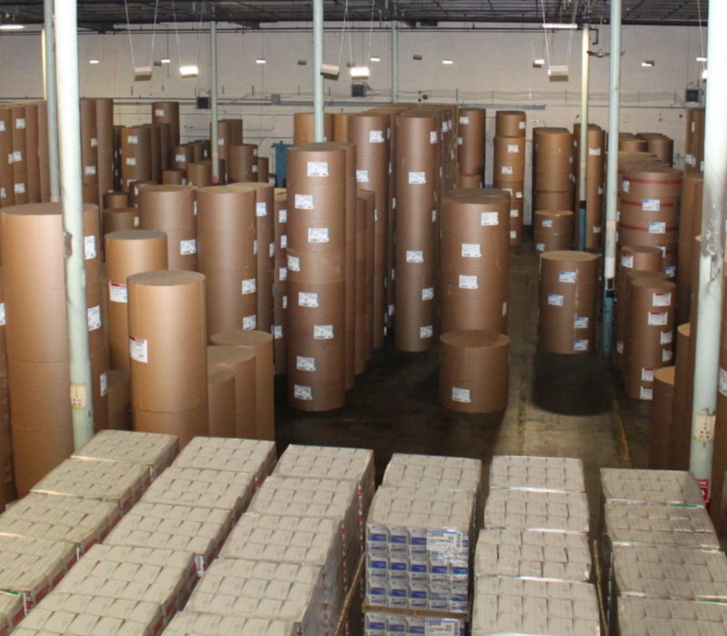 Paper Roll Warehousing