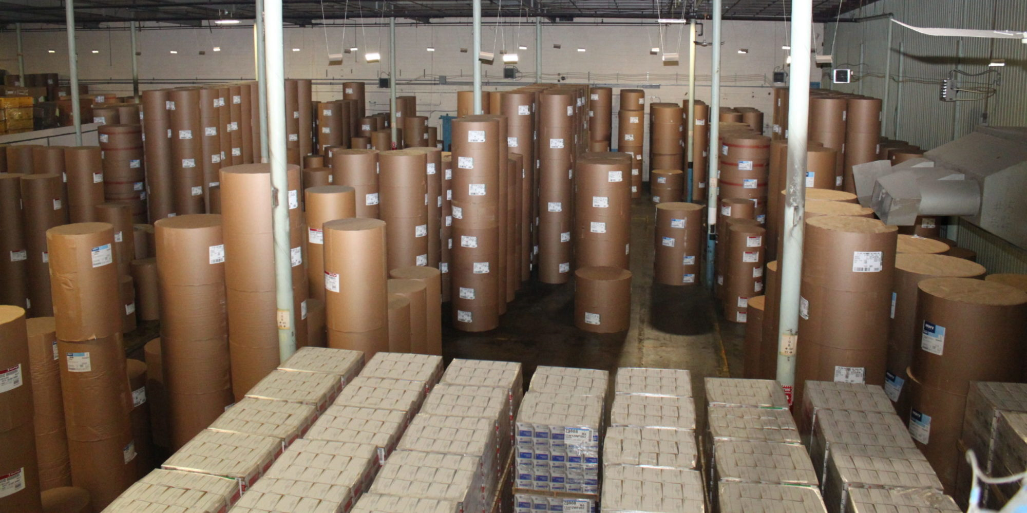 paper roll warehousing